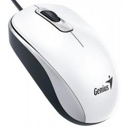 Genius - DX-110 ratón USB Óptico 1000 DPI Blanco