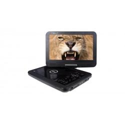 "Nevir - NVR-2782DVD-PCU reproductor de dvd/bluray portátiles Reproductor de DVD portátil Mesa Negro 25,6 cm (10.1"") 1024 x 600 P"