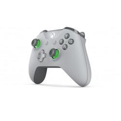 Microsoft - WL3-00061 mando y volante Gamepad Xbox One S Analógico RF Verde, Gris