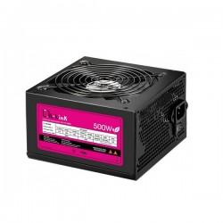 L-Link - LL-PS-500-CAB unidad de fuente de alimentación 500 W ATX Negro