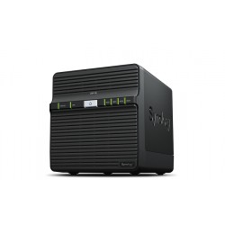 Synology - DiskStation DS418j Ethernet Escritorio Negro NAS