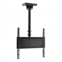 """iggual - STTV01 55"""" Negro soporte de techo para pantalla plana"""