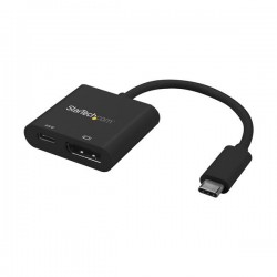 StarTech.com - Adaptador Gráfico Externo USB-C a DisplayPort con Entrega de Potencia - Adaptador de Vídeo Externo U