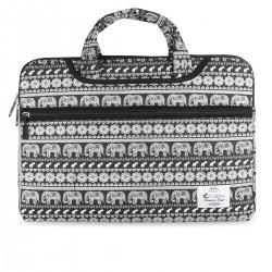 "e-Vitta - Elephant maletines para portátil 39,6 cm (15.6"") Funda Negro, Blanco"