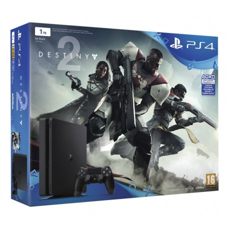 Sony - PlayStation 4 + Destiny 2 500GB Wifi Negro