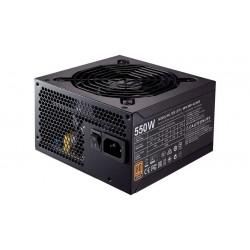 Cooler Master - MWE Bronze 550 unidad de fuente de alimentación 550 W 20+4 pin ATX ATX Negro