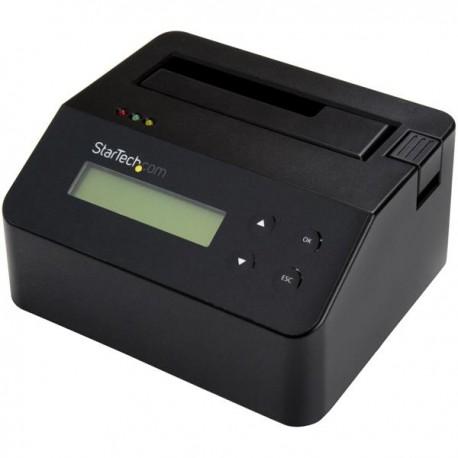 StarTech.com - Borrador de Unidad de Disco y Docking Station para Unidades SATA de 2,5 y 3,5 Pulgadas - USB 3.0 - C