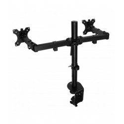"""Ewent - EW1512 soporte de mesa para pantalla plana 68,6 cm (27"""") Abrazadera Negro"""
