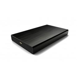"CoolBox - SlimChase A-2523 2.5"" Carcasa de disco duro/SSD Negro - COO-SCA2523C-B"
