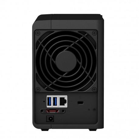 Synology - DS218+ NAS Compacto Ethernet Negro servidor de almacenamiento