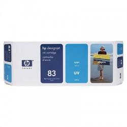 HP - Cartucho de tinta UV DesignJet 83 cian de 680 ml