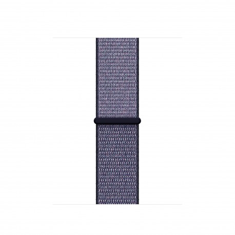 Apple - MQW52ZM/A Grupo de rock Azul Nylon accesorio de relojes inteligentes