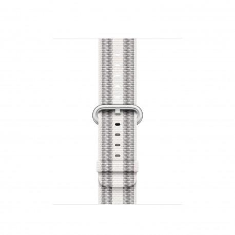 Apple - MQVH2ZM/A Grupo de rock Blanco Nylon accesorio de relojes inteligentes