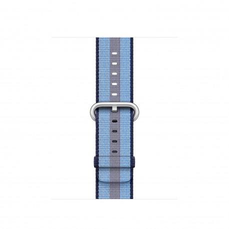 Apple - MQVJ2ZM/A Grupo de rock Azul Nylon accesorio de relojes inteligentes