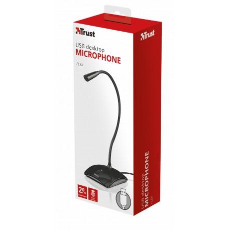 Trust - 21679 PC microphone Alámbrico Negro micrófono