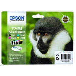 Epson - Multipack T0895 4 colores - 2084511