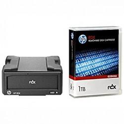 Hewlett Packard Enterprise - RDX+ 1TB RDX 1000GB unidad de cinta
