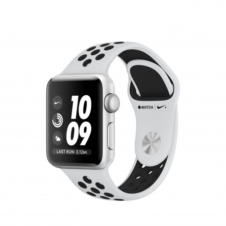 Apple - Watch Nike+ OLED GPS (satélite) Plata reloj inteligente - 22166487