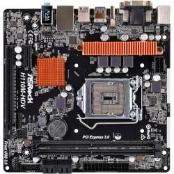Asrock - H110M-HDV R3.0 LGA 1151 (Socket H4) Intel® H110 Micro ATX