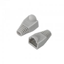 Nanocable - 10.21.0301-OEM protector de cable Gris 10 pieza(s)