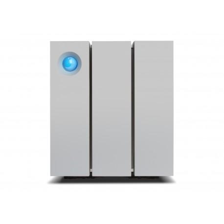 LaCie - 2big Thunderbolt 2 16000GB Escritorio Plata unidad de disco multiple