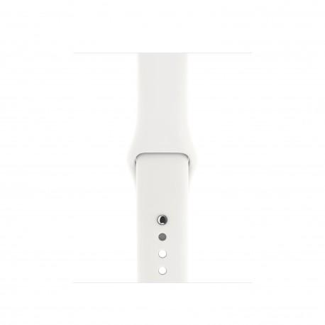 Apple - MR262ZM/A Grupo de rock Blanco Fluoroelastómero accesorio de relojes inteligentes