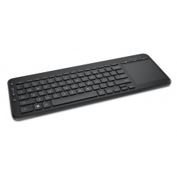 Microsoft - N9Z-00011 teclado RF Wireless QWERTY Spanish Black