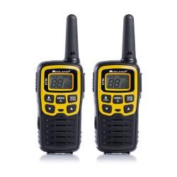 Midland - XT50 24channels 446.00625 - 446.0935MHz Negro, Amarillo two-way radios