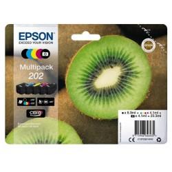 Epson - Kiwi Multipack 5-colours 202 Claria Premium Ink - C13T02E74010