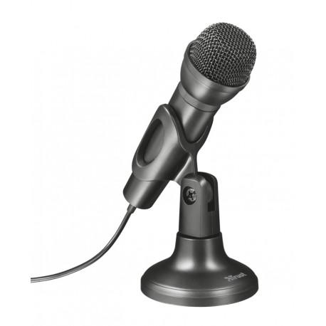Trust - 21964 PC microphone Alámbrico Negro micrófono