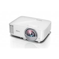Benq - MX825ST videoproyector 3300 lúmenes ANSI DLP XGA (1024x768) 3D Proyector para escritorio Blanco