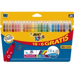 BIC - 841803 Medio Multicolor 24pieza(s) rotulador