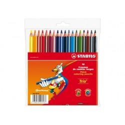 Stabilo - Trio 18pieza(s) lápiz de grafito