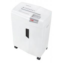 HSM - X13 Particle-cut shredding 57dB Plata, Color blanco triturador de papel
