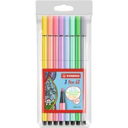 STABILO - Pen 68 8er rotulador Medio Multicolor 8 pieza(s)