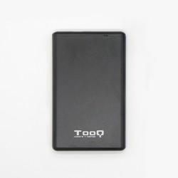 "TooQ - TQE-2533B caja para disco duro externo 2.5"" Carcasa de disco duro/SSD Negro"