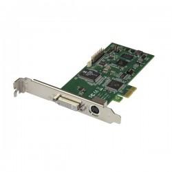 StarTech.com - Tarjeta PCI Express Capturadora de Vídeo HDMI, VGA, DVI o Vídeo por Componentes 1080p 60Hz - Capturadora Interna