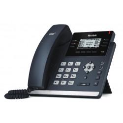 Yealink - SIP-T42S teléfono IP Negro Terminal con conexión por cable 12 líneas LCD