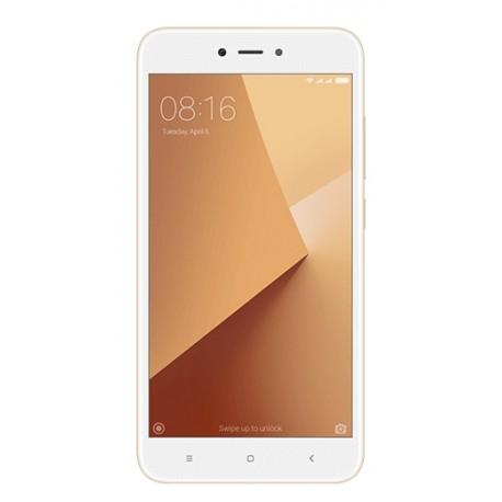 """Xiaomi - Redmi Note 5A 5.5"""" SIM doble 4G 2GB 16GB 3080mAh Oro, Blanco - 22241583"""