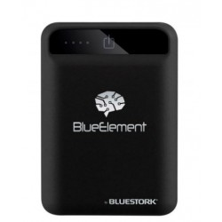 Bluestork - BK-50-U2-BE batería externa Negro Polímero de litio 5000 mAh