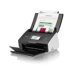 Brother - ADS-2600W Escáner alimentado con hojas 600 x 600DPI A4 Negro, Color blanco escaner