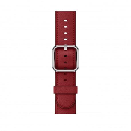 Apple - MR3A2ZM/A Grupo de rock Rojo Cuero accesorio de relojes inteligentes