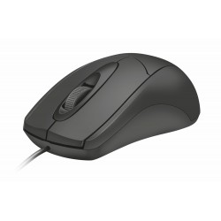 Trust - Ziva ratón USB Óptico 1200 DPI Ambidextro Negro