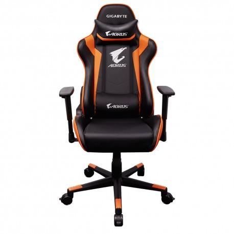Gigabyte - AGC300 Silla para videojuegos universal Asiento acolchado silla para videojuegos