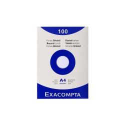 Exacompta - 13306E 100páginas A4 formulario, regitro y papel para escribir