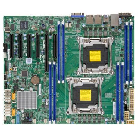 Supermicro - X10DRL-i Intel C612 LGA 2011 (Socket R) ATX placa base para servidor y estación de trabajo