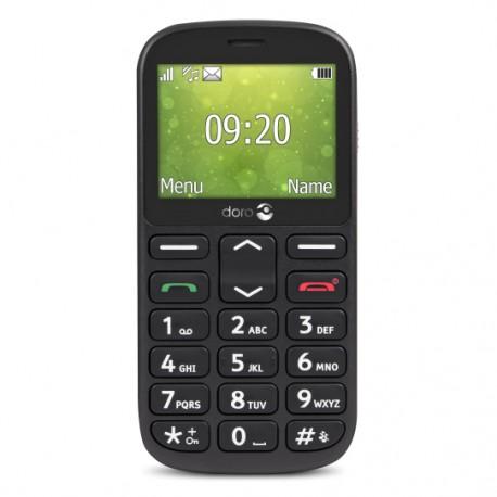 """Doro - 1361 2.4"""" 96g Negro Característica del teléfono"""