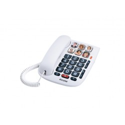 Alcatel - TMAX 10 Teléfono analógico Blanco