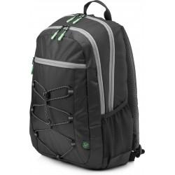 HP - Active (Black/Mint Green) mochila Tela Negro / Azul