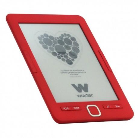 "Woxter - Scriba 195 6"" 4GB Rojo lectore de e-book"